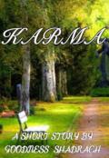 "Book cover ""Karma"""