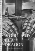 """Book cover """"A Girl and Her Dragon"""""""