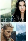 """Обложка книги """"Ледяное пламя твоего сердца"""""""
