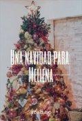 """Cubierta del libro """"Una Navidad para Meliena"""""""