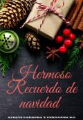 """Cubierta del libro """"Hermoso Recuerdo de navidad"""""""