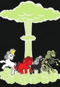 """Обложка книги """"Апокалиптический рок-н-ролл (рифмованный текст)"""""""