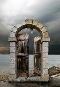 """Обложка книги """"Дверь в никуда"""""""