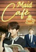 """Cubierta del libro """"Maid Café"""""""