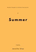 """Book cover """"Summer"""""""