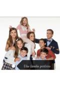 """Cubierta del libro """"Una familia perfecta"""""""