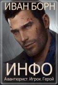 """Обложка книги """"Инфо. Авантюрист, игрок, герой"""""""