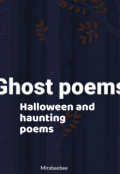 "Book cover ""Ghost poems """