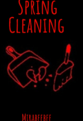 "Book cover ""Spring cleaning """