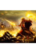 """Обложка книги """"проклятый воин огня """""""