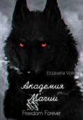 """Обложка книги """"Академия Магии"""""""