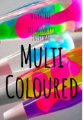 """Book cover """"Multi coloured"""""""