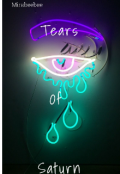 """Book cover """"Tears of saturn"""""""