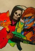 """Book cover """"Redfox Squad Season 1"""""""