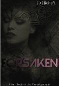 """Book cover """"Forsaken"""""""