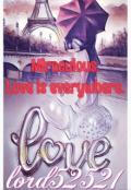 "Обложка книги ""Miraculous.  Love is everywhere"""