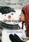 """Обложка книги """"Мой парень - снеговик"""""""