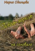 """Обложка книги """"Любовь-морковь на сеновале"""""""