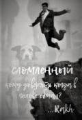 """Обложка книги """"Сломленный"""""""