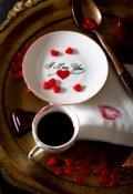 """Обложка книги """"Аромат кофейной любви."""""""