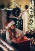 """Обложка книги """"Новый год, любовь и слезы"""""""