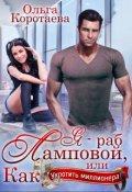 """Обложка книги """"Я - раб Ламповой, или Как укротить миллионера"""""""