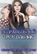 """Обложка книги """"Неправильный треугольник"""""""