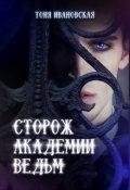 """Обложка книги """"Сторож Академии ведьм"""""""