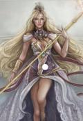 """Обложка книги """"Рожденная богом света и богиней тьмы"""""""