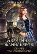 """Обложка книги """"Академия фамильяров. Секрет темного прошлого"""""""