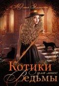 """Обложка книги """"Котики для мисс Ведьмы"""""""
