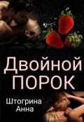"""Обложка книги """"Двойной порок"""""""