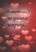 """Обложка книги """"Романтики незримые штрихи"""""""