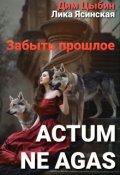 """Обложка книги """"Actum ne agas. Забыть прошлое"""""""