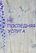 "Обложка книги ""Не последняя услуга"""