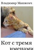"""Обложка книги """"Кот с тремя именами"""""""