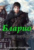 """Обложка книги """"Бларио: Ученик тени"""""""