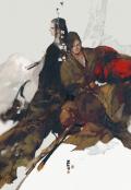 """Обложка книги """"Император Цзинь Вэй: Десять лет преданности"""""""