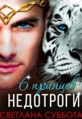 """Обложка книги """"6 Принцев для мисс Недотроги """""""