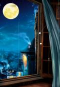"""Обложка книги """"Луна"""""""