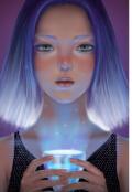 """Обложка книги """"Ледяная принцесса """""""