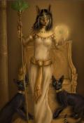 """Обложка книги """"  Бастет. Богиня кошка"""""""
