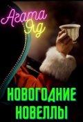 """Обложка книги """"Новогодние новеллы"""""""