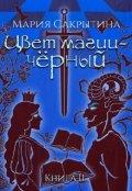 """Обложка книги """"Цвет магии - чёрный. Книга 2"""""""