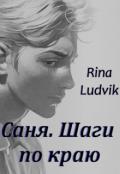 """Обложка книги """"Саня. Шаги по краю"""""""