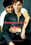 """Обложка книги """"Вампир для Героя"""""""