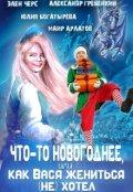 """Обложка книги """"Что-то новогоднее, или Как Вася жениться (не) хотел"""""""