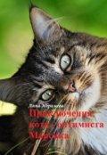 """Обложка книги """"Приключения кота  - оптимиста Марсика"""""""