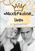 """Обложка книги """"«max&pauline_live» """""""