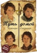 """Обложка книги """"Путь домой. Четыре близнеца."""""""